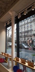 Façade de magasin Voltaire