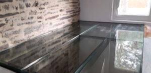 Dalle de plancher sur ossature métallique