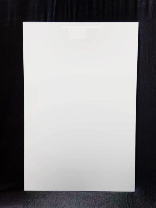 VL blanc - Verre laqué blanc