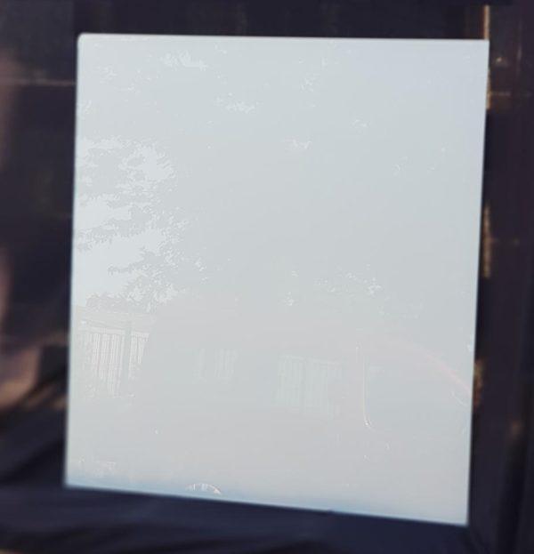 VL gris - Verre laqué gris